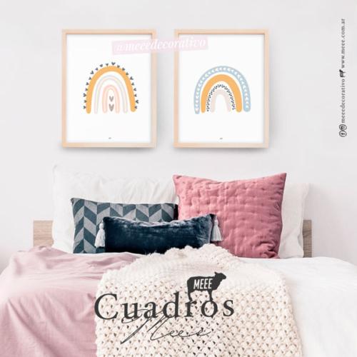 Combo Arcoiris - Cuadros decorativos Meee by May Anokian
