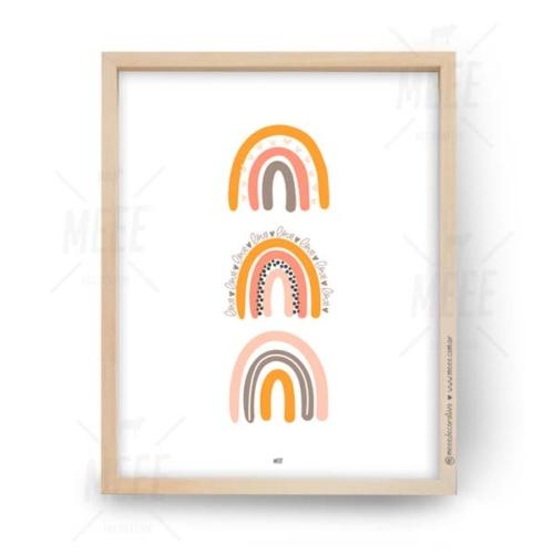 Trio de arcoíris - Cuadros decorativos Meee by May Anokian