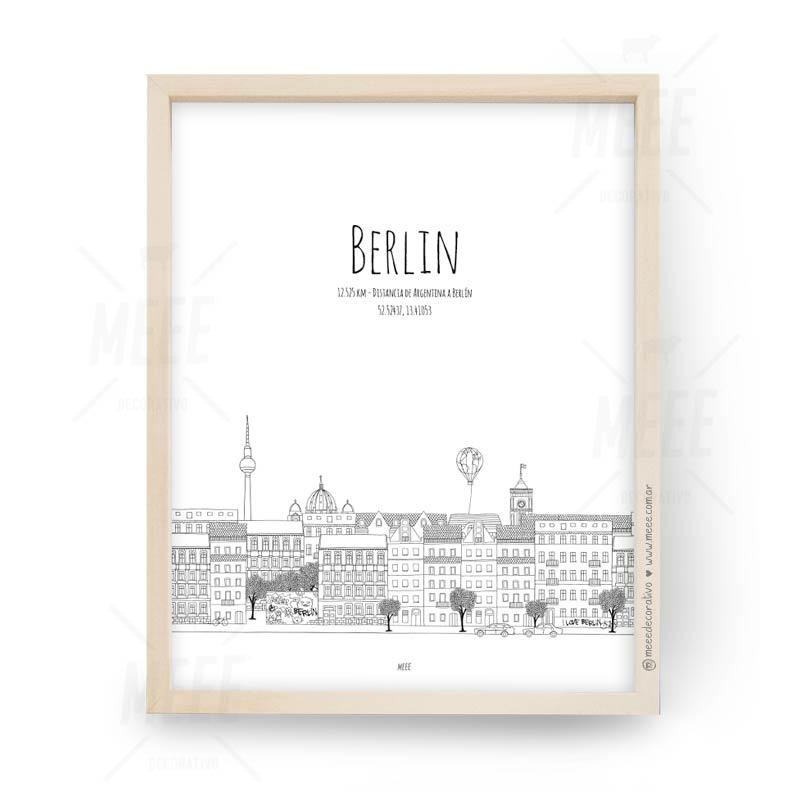 Berlin - Cuadros decorativos Meee by May Anokian