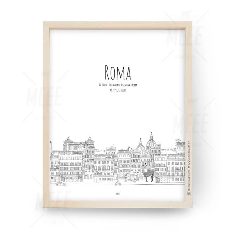 Roma - Cuadros decorativos Meee by May Anokian